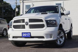 Used 2017 RAM 1500 SPORT | BACK UP CAM | BLUETOOTH | POWER SEAT for sale in Waterloo, ON