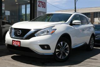 Used 2016 Nissan Murano SL AWD Navi, PanoRoof, Camera, Leather, Push Start, for sale in North York, ON