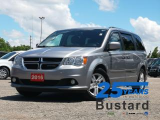 Used 2016 Dodge Grand Caravan SE/SXT | POWER SLIDING DOORS | NAVIGATION | BACK- for sale in Waterloo, ON