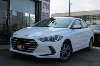 Used 2017 Hyundai Elantra Camera, Apple Carplay, Android Auto, Heated Seats & Steering for sale in North York, ON