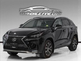 Used 2016 Lexus NX 200t F Sport, Red Int, Navi, Camera, Roof, No Accident, Clean for sale in Concord, ON