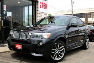 Used 2017 BMW X4 28i xDrive, M Sport, Navi, Cam, Roof, Clean for sale in North York, ON