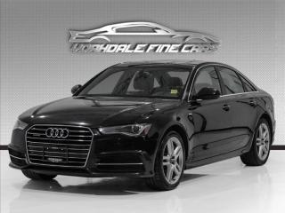 Used 2016 Audi A6 3.0T Quattro Progressiv, Navi, Roof, Leather, Alloys, Clean for sale in Concord, ON