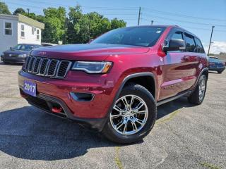 Used 2017 Jeep Grand Cherokee TRAILHAWK | PANO | NAVI | COOLED SEATS for sale in Waterloo, ON
