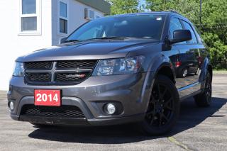Used 2014 Dodge Journey SXT BLACKTOP | DVD | BACK UP CAM | REMOTE START for sale in Waterloo, ON
