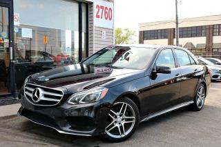 Used 2016 Mercedes-Benz E-Class E400 4M, Navi, 360 Camera, PanoRoof, Harman Kardon Sound for sale in North York, ON