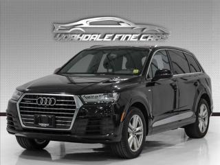 Used 2017 Audi Q7 3.0T Quattro Technik S Line, Navi, Camera, No Accidents for sale in Concord, ON