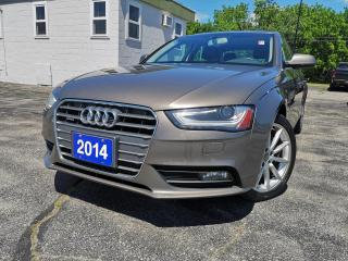 Used 2014 Audi A4 Auto Progressiv Quattro | Heated Seats | Leather for sale in Waterloo, ON