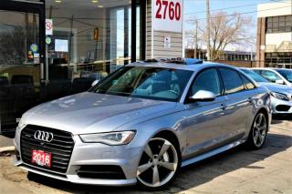 Used 2016 Audi A6 3.0T Quattro S Line Navi, Camera, Leather, No Accident for sale in North York, ON