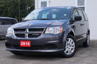 Used 2016 Dodge Grand Caravan 4dr Wgn CVP | Bluetooth | Accident Free! for sale in Waterloo, ON