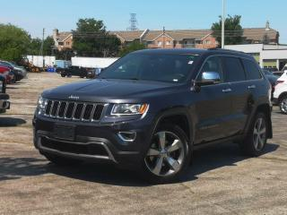 Used 2016 Jeep Grand Cherokee 4WD 4dr Limited | Navi | Leather | Heated Seats for sale in Waterloo, ON