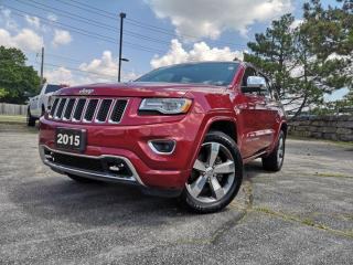 Used 2015 Jeep Grand Cherokee 4WD 4dr Overland | Pano | Navi | Vented Seats for sale in Waterloo, ON