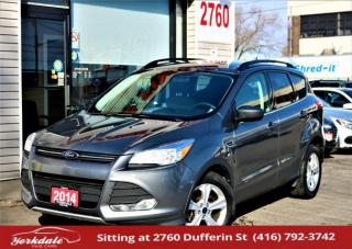 Used 2014 Ford Escape SE 4WD, Navi, Camera, Bluetooth, Heated Seats, Rear Sensors for sale in North York, ON
