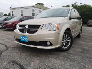 Used 2015 Dodge Grand Caravan 4dr Wgn SXT Premium Plus | Dvd | Navi | Power Door for sale in Waterloo, ON