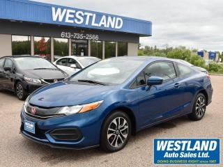 Used 2015 Honda Civic Coupe for sale in Pembroke, ON