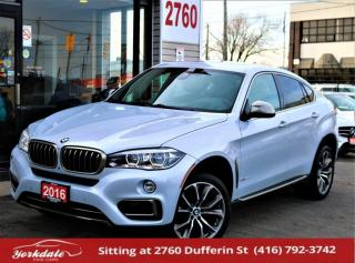 Used 2016 BMW X6 35i, Individual Pkg, Navi, 360Cam, BlindSpot, HUD, Sound Sys for sale in North York, ON