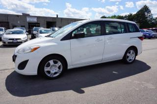 Used 2012 Mazda MAZDA5 GS AUTO 6 PSSNGRS CERTIFIED 2YR WARRANTY *FREE ACCIDENT* AUX for sale in Milton, ON
