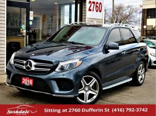 Used 2016 Mercedes-Benz GLE-Class 350D 4M, AMG, Distronic+, PanoRoof, Drivers Assist, Clean for sale in North York, ON