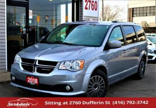 Used 2018 Dodge Grand Caravan SXT Premium Plus, DVD, Navi, Leather, Camera, 7 Pass for sale in North York, ON