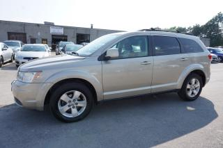 Used 2009 Dodge Journey V6 SXT 7 SEATERS CERTIFIED 2YR WARRANTY *FREE ACCIDENT*SERVICE RECORDS* SUNROOF BLUETOOTH AUX ALLOYS for sale in Milton, ON
