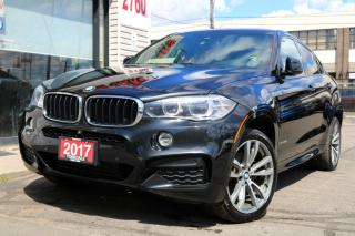 Used 2017 BMW X6 xDrive35i M Sport, Navigation, HUD, Blind Spot, Very Clean! for sale in North York, ON