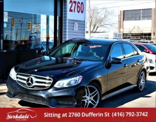 Used 2016 Mercedes-Benz E-Class E250 BlueTEC 4MATIC, Panoramic, Navigation, No Accidents for sale in North York, ON