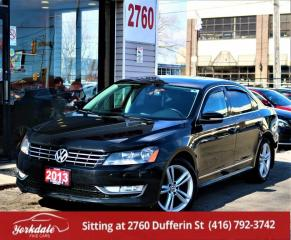 Used 2013 Volkswagen Passat 2.0 TDI Sport Line, Leather, Roof for sale in North York, ON