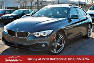 Used 2016 BMW 428i xDrive Gran Coupe Sport, Navi, Camera, 360 Cam, HUD, Blind Spot, Loaded for sale in North York, ON