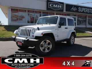 Used 2014 Jeep Wrangler Sahara  NAV HTD-SEATS TARGA BT AUTO for sale in St. Catharines, ON