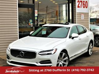 Used 2017 Volvo S90 T6 Inscription, Cooled Seats, Camera, HUD, Navi,  Roof, for sale in North York, ON