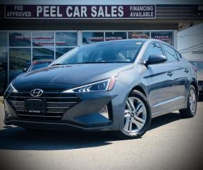 Used 2019 Hyundai Elantra PREFFERED|CERTIFIED| SUNROOF|ALLOYS|REARVIEW| for sale in Mississauga, ON