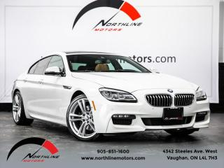 Used 2016 BMW 6 Series 640i xDrive Gran Coupe M-Sport Navigation Soft Close Doors for sale in Vaughan, ON