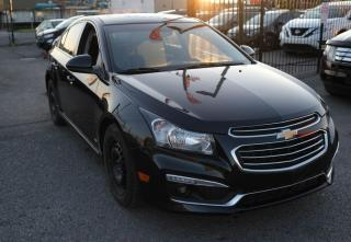 Used 2015 Chevrolet Cruze backup camera,sunroof , fully loaded RS for sale in Scarborough, ON