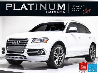 Used 2016 Audi SQ5 3.0T quattro Progressiv, AWD, NAV, PANO, HEATED for sale in Toronto, ON
