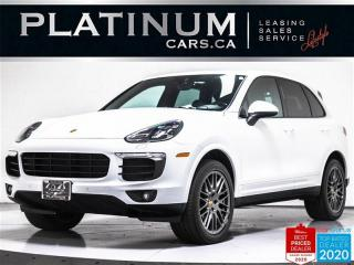 Used 2017 Porsche Cayenne PLATINUM EDITION, NAV, PREMIUM PLUS, PANO, CAM, 21 for sale in Toronto, ON