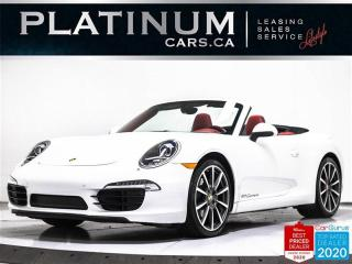 Used 2014 Porsche 911 Carrera, PDK, CABRIOLET, SPORTS EXHAUST, NAV for sale in Toronto, ON