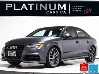 Used 2016 Audi S3 2.0T quattro Technik, S-LINE, NAV, CAM, BOSE, PUSH for sale in Toronto, ON