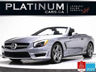Used 2014 Mercedes-Benz SL-Class SL63 AMG, 530HP, PREMIUM, NIGHT VISION, MAGICROOF for sale in Toronto, ON
