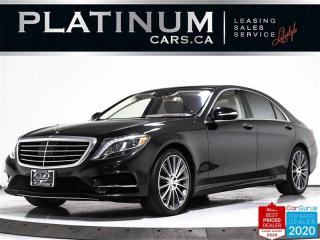 Used 2017 Mercedes-Benz S-Class S550 4MATIC, LWB, AMG, NAV, HUD, 360 CAM, PANO for sale in Toronto, ON