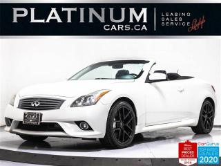 Used 2012 Infiniti G37 Convertible, Sport, LEATHER, HID, BLUETOOTH, CAM for sale in Toronto, ON