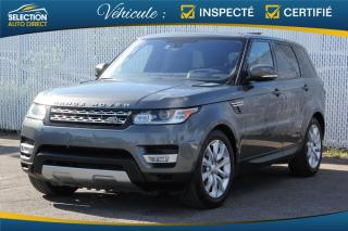 Used 2016 Land Rover Range Rover Sport HSE Td6 DVD for sale in Ste-Rose, QC