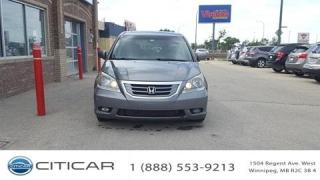 Used 2009 Honda Odyssey 2009 Honda Odyssey Touring*DVD*SROOF*LEATHER for sale in Winnipeg, MB