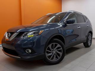 Used 2016 Nissan Rogue SL AWD ANGLE MORT HAYON ÉLECT NAV CUIR *TOIT PANO* for sale in St-Jérôme, QC