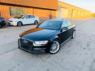 Used 2013 Audi A4 PREMIUM PLUS | S LINE | CLEAN for sale in Burlington, ON