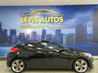 Used 2016 Hyundai Veloster TECH MANUEL 6 VITESSES TOIT PANO GPS CAM for sale in Lévis, QC