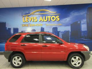 Used 2007 Kia Sportage LX AWD MANUEL AIR CLIMATISE for sale in Lévis, QC