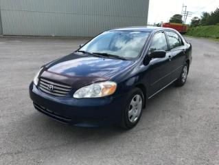 Used 2004 Toyota Corolla 4DR SDN CE AUTO for sale in Quebec, QC