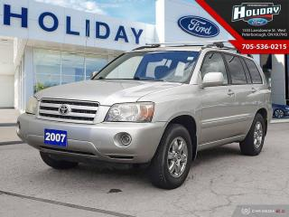 Used 2007 Toyota Highlander for sale in Peterborough, ON