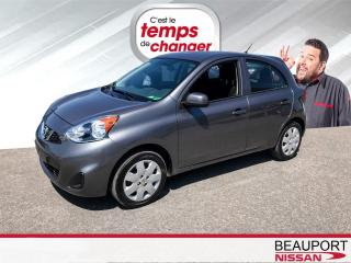 Used 2019 Nissan Micra SV BA for sale in Beauport, QC