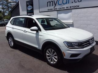 Used 2019 Volkswagen Tiguan Trendline HEATED SEATS, ALLOYS, BACKUP CAM, MYCAR POWERBUY!! for sale in Richmond, ON